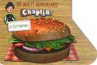 50 jeux et gribouillages Chaplin and co : le restaurant