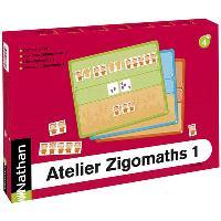 Atelier Zigomaths. 1 pour 2 enfants, les nombres de 3 à 6 : composer et décomposer les quantités