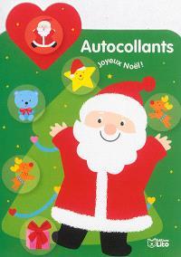Autocollants joyeux Noël ! : Père Noël
