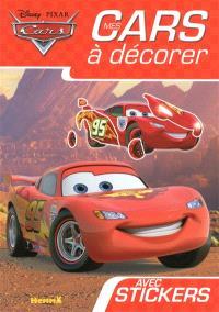 Cars : mes cars à décorer