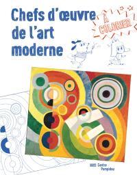 Chefs-d'oeuvre de l'art moderne à colorier