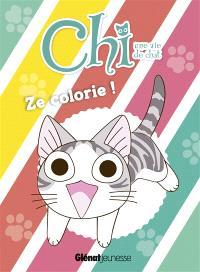 Chi, une vie de chat : ze colorie !