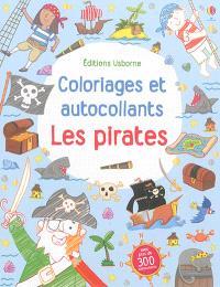 Coloriages et autocollants : les pirates