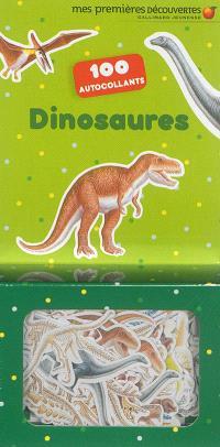 Dinosaures : 100 autocollants