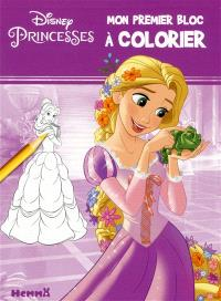 Disney princesses : mon premier bloc à colorier