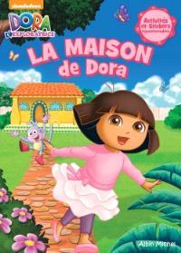 La maison de Dora : activités et stickers repositionnables