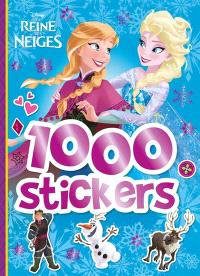 La reine des neiges : 1.000 stickers