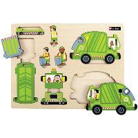 Le camion-poubelle