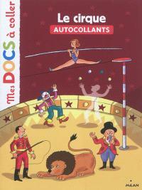 Le cirque : autocollants