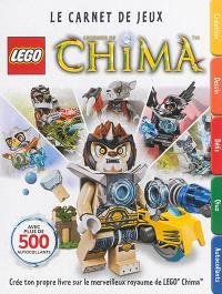 Lego legends of Chima : le carnet de jeux