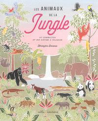 Les animaux de la jungle : 147 gommettes et des décors à colorier
