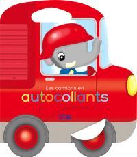 Les camions en autocollants