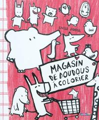 Magasin de doudous à colorier
