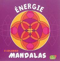 Mandalas à colorier : énergie