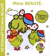Mme Beauté : 40 gommettes, 8 décors à compléter