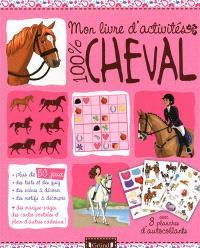 Mon livre d'activités 100 % cheval