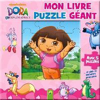 Mon livre puzzle géant : Dora l'exploratrice