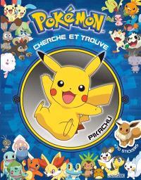 Pikachu rencontre Evoli : cherche et trouve
