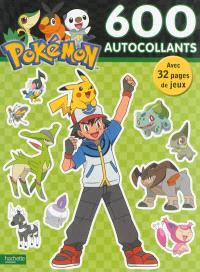 Pokémon : 600 autocollants