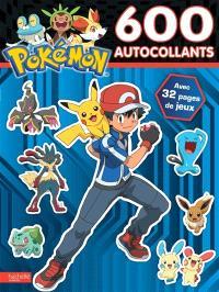Pokémon : 600 autocollants : avec 32 pages de jeux