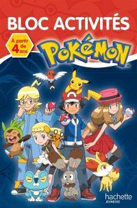 Pokémon : bloc activités : à partir de 4 ans
