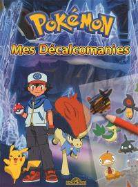 Pokémon : mes décalcomanies