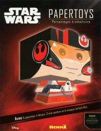 Star Wars papertoys : personnages à construire : Kylo Ren