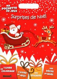 Surprises de Noël : ma pochette de jeux