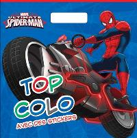 Ultimate Spider-Man : top colo avec des stickers