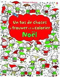Un tas de choses à trouver et à colorier : Noël