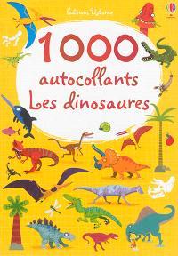 1.000 autocollants : les dinosaures