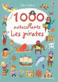 1.000 autocollants : les pirates