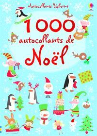 1.000 autocollants de noël