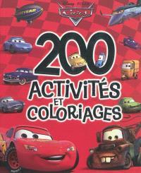 200 activités et coloriages Cars