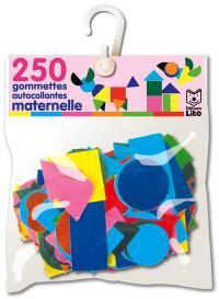 250 gommettes autocollantes maternelle