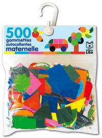 500 gommettes autocollantes maternelle