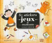 80 stickers jeux & coloriages : cahier-jeu Gwen et Job