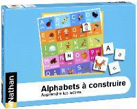 Alphabets à construire