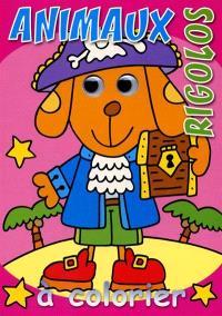 Animaux rigolos à colorier : chien