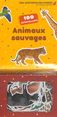 Animaux sauvages : 100 autocollants