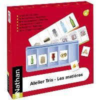 Atelier Tris, les matières pour 2 enfants