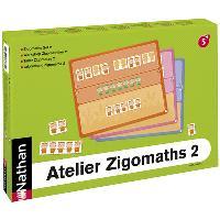 Atelier Zigomaths. 2 pour. 2 enfants, les nombres de 7 à 12 : composer et décomposer les quantités