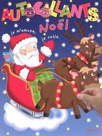 Autocollants Noël : je m'amuse, je colle