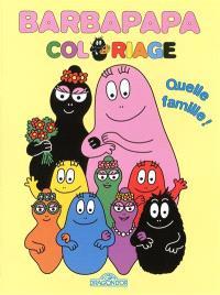 Barbapapa : quelle famille ! : coloriage