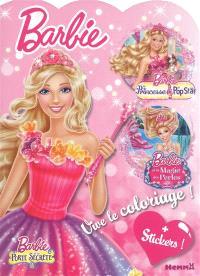 Barbie et la porte secrète, Barbie la princesse et la pop star, Barbie et la magie des perles