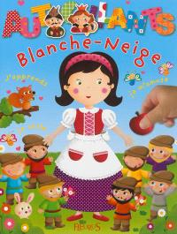 Blanche-Neige : j'apprends, je colle, je m'amuse
