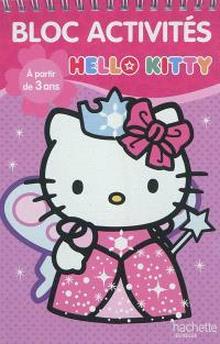 Bloc activités Hello Kitty, à partir de 3 ans