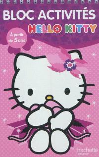 Bloc activités Hello Kitty, à partir de 5 ans