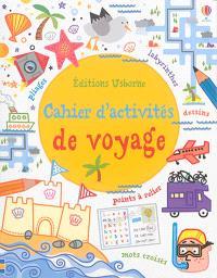 Cahier d'activités de voyage
