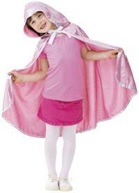 Cape de princesse avec capuche